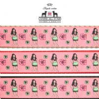 DOG LEAD - HULA GIRLS CORAL